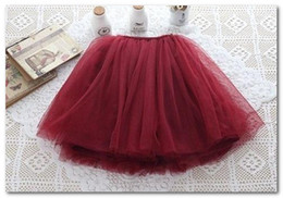 Wholesale 2014 new girls lace tutu skirts Children babys kids new spring summer lace princess party skirts wine pink green purple orange pink blue2763