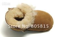 Wholesale Australia Sheepskin Fur Wool Baby Snow Boots Infant Keep Warm Shoes Suit for years bab