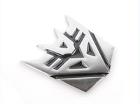 Personalized Sticker -  Fashion TRANSFORMERS Emblem Badge Resistance Stainless Steel Auto Car Sticker Mark