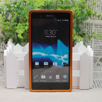 For Sony Ericsson   Aluminum Alloy Blade Metal Frame Bumper Case for Sony Xperia Z L36h