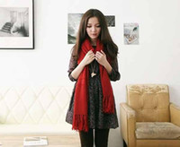 Magic Princess House Fashion Long Red Crystal Sweater Necklace Brand New Fashion Stylish girl