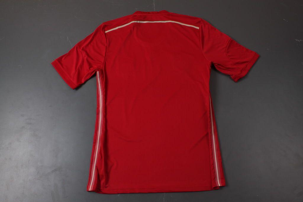 2017 top thai quality spain 2014 world cup home red jersey for Spain polo shirt 2014