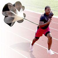 Wholesale 5pcs Brand New quot Speed Training Resistance Parachute Umbrella Running Chute