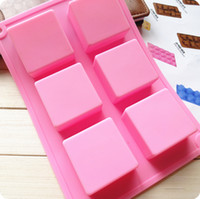 Wholesale Cake Mold Soap Mold Square Mold Silicone Mould chocolate cookies mould cake decorating fondant molds