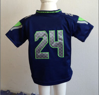 Wholesale Marshawn Lynch Baby Jerseys Top Quality Discount American Football Apparel for Kids Brand Sellers Sports Jerseys