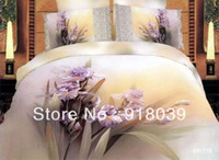 Cheap unique bedclothes cotton printe sunflowers yellow queen size 3D flower floral 4pcs bedspread Duvet Comforter Quilt cover sets