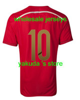 Thai Quality Customized Spain Home Jersey, Spain 2014 WC Jer...