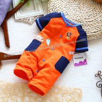 Cheap Cool male baby bodysuit romper clothes and climb boxer romper baby boy romper jumpsuit
