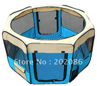 Wholesale Pet Dog Tent Puppy Playpen Exercise Pen Kennel PET TENT MID size x58cm set fast delivery