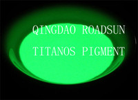 Wholesale glow powder um yellow green glowing high luminance free samples available