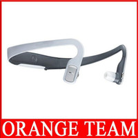 Wholesale New arrival BH505 Bluetooth Stereo Wireless Headset Earphone for MP3 MP4 mobile phone