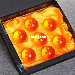Wholesale Japan Anime Dragon Ball Z Crystal Ball set Toys PVC Goku Action Figures Diameter cm Best Value Gift