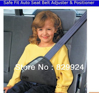 Wholesale 2014Safe fit thickening car safety belt adjust device baby child safety belt protector seat belt positioner