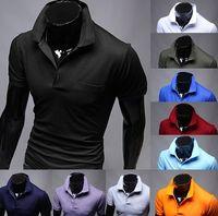 Men Round Fashion Tee New hot sale Summer Men's Fashion Polo T-Shirts, Cotton T shirts,Casual Slim Fit Stylish Short-Sleeve Polo Shirt Asia M-XXL
