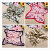 Wholesale 50 CM Kerchief Lady s Mutil Use Scarf Many Design Pattern