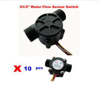 Wholesale New quot Water Flow Sensor Is Water Heater Flowmeter Flow Sensor Meter Hall Sensor