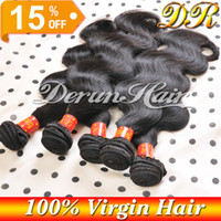 Wholesale Hot Sale Mix Bundles Brazilian Virgin Human Weave Hair Weft Extensions Body Wave Natural Color Unprocessed Bundles Wavy Hair