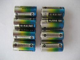 4LR44 6V Alkaline battery, Fresh Batteries, dog collar batteries Automatic Bark Control battery Beauty Pen cell Free shipping