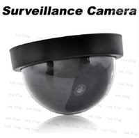 Wholesale NEW HOT Fake Dummy Dome Surveillance CAM Dummy Indoor Security CCTV Camera flashing for Home Camera LED LLY314