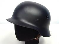 german helmets - WWII WW2 German MOD M35 Luftwaffe Steel Helmet War Game Helmet OD Black Gray