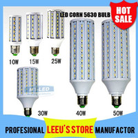 Wholesale X20 DHL Ultra bright Led Corn light E27 E14 SMD V W W W W W W LM LED bulb degree Lighting Lamp