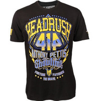 mma shirt - MMA HEADRUSH Anthony Showtime Pettis Walkout Shirt