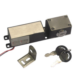 Small Size DC 12V Electric Lock with Key for Cabinet, Drawer, Box