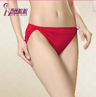 Wholesale Brand New Mulberry silk Pure Silk underwear panties sexy mulberry silk briefs