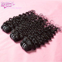 Wholesale brazilian virgin hair deep curl wave human hair unprocessed hair
