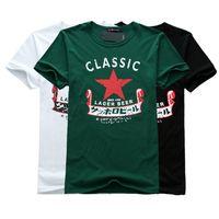 bargains plus - New Summer stars bargain price Casual Men Short Sleeve t shirt Plus Size Cotton t shirts popular