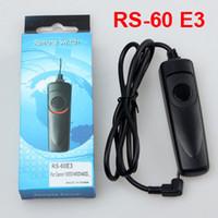 Cheap RS-60 E3 Camera Remote Control Shutter Release Switch For 60D 70D 500D 550D 600D 650D G11 G12