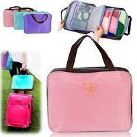 Wholesale New Women Multi function Travel Insert Handbag Purse Large liner Organizer Tidy Bag Pouch