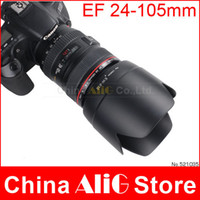 Cheap Camera Lens Hood EW-83II ew 83II for 60D 70D 5D EF 20-35mm 24-105mm Camera Filter lens Accessories