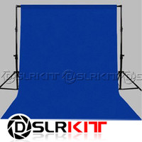 Wholesale Backdrop Blue m x m Cotton Muslin background