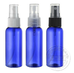 Wholesale Capacity ml PET Transparent plastic bottles Bottle Cosmetic Cosmetic Packaging spray bottle