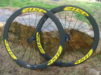 Wholesale 2014 Latest ZIPP mm Clincher Tubular C bicycle wheels c carbon fiber road bike wheelset bike racing wheelset Novatec Hubs