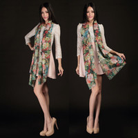 Wholesale Premium women s cashmere scarf scarves blooming flowers are a boutique printing from the grant