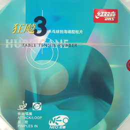 DHS NEO Hurricane 3 NEO Hurricane3 NEO Hurricane-3 Pips-In Table Tennis Ping Pong Rubber With Sponge 2.15-2.2mm