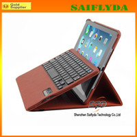 Wholesale 360 Degree Rotary Rotating Smart Magnetic bluetooth wireless keyboard case for ipad air ipad mini retina