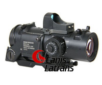 Wholesale hot sale x fixed dual role scope w mini red dot sight for rifle for hunting CL1