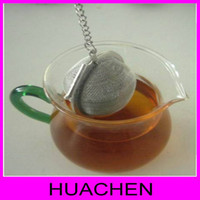 Wholesale 7062 cm tennis type tea ware stainless steel tea ball tea strainer tea filter spices flavor