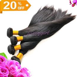 20% de réduction! 100% Vierge brésilienne Remy Tissages Trame cheveux 3pcs / lot 8-30 Pouces Hétéro Couleur naturelle Reine cheveux Trame, Livraison rapide gratuite !! à partir de 14 pouces de tissages droites fabricateur