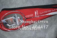 Wholesale 2013 new Li Ning N90III badminton rackets with single cover bag pecs