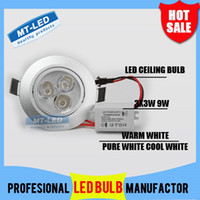 Wholesale X20 DHL Dimmable High power Led ceiling lamp W LM Led Bulb V LED lighting led light spotlight down light with drive
