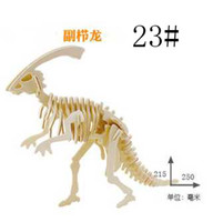 Wholesale DIY fashion Model Toys D stereo Wooden Jigsaw Puzzle wooden family toy dinosaur toy puzzle car tanks model quality puzzle styles l