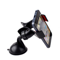 jx141018 No Yes PlasticUniversal Car Windshield Mount Holder Bracket for Mobile Phone MP4 MP5 GPS