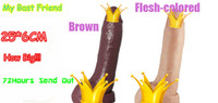 Female Large Silicone Wholesale Free shipping-2013 popular Men's Sexy huge Penis super big size:25*6cm Suction Dildo Vagina Adult Sex toys for Woman