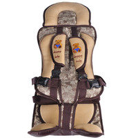 Wholesale 2014Portable Baby Child Car Safety Booster Seat Cover Harness Cushion colors Suitable for years KG KG gift for kids