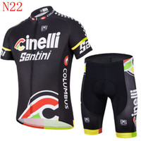 santini - 2014 fashion clothes Santini Team cycling jersey cycling wear short suit outdoor mountain clothing good quality