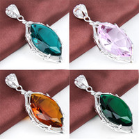 5 pcs 925 sterling silver gemstone unique jewelry